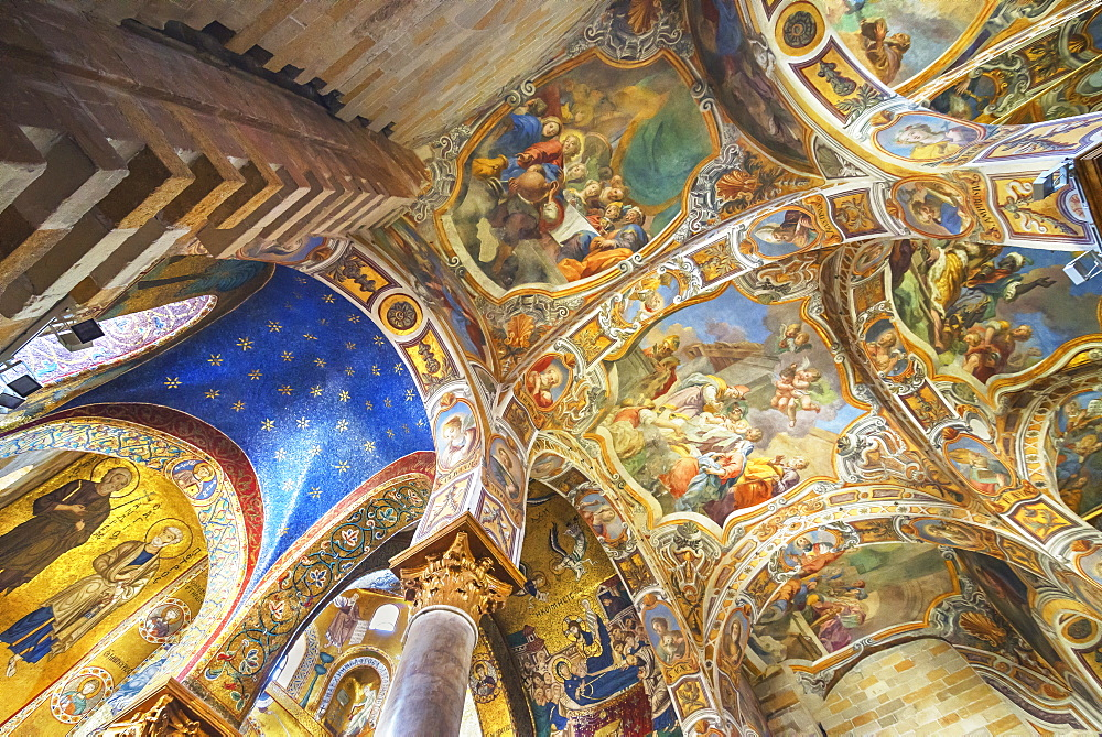 La Martorana Church, Palermo, Sicily, Italy, Europe