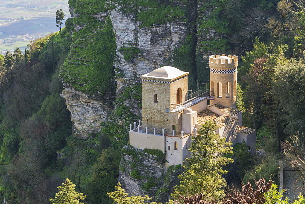 Venus Castle, Erice, Sicily, Italy, Europe - 718-2437