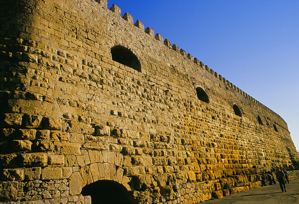 Rocca del Mare Venetian fortress, Iraklion (Heraklion), island of Crete, Greece, Mediterranean, Europe