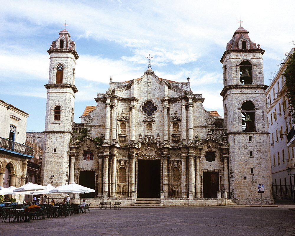 The Cathedral of Havana, Cuba, West Indies, Central America - 722-102