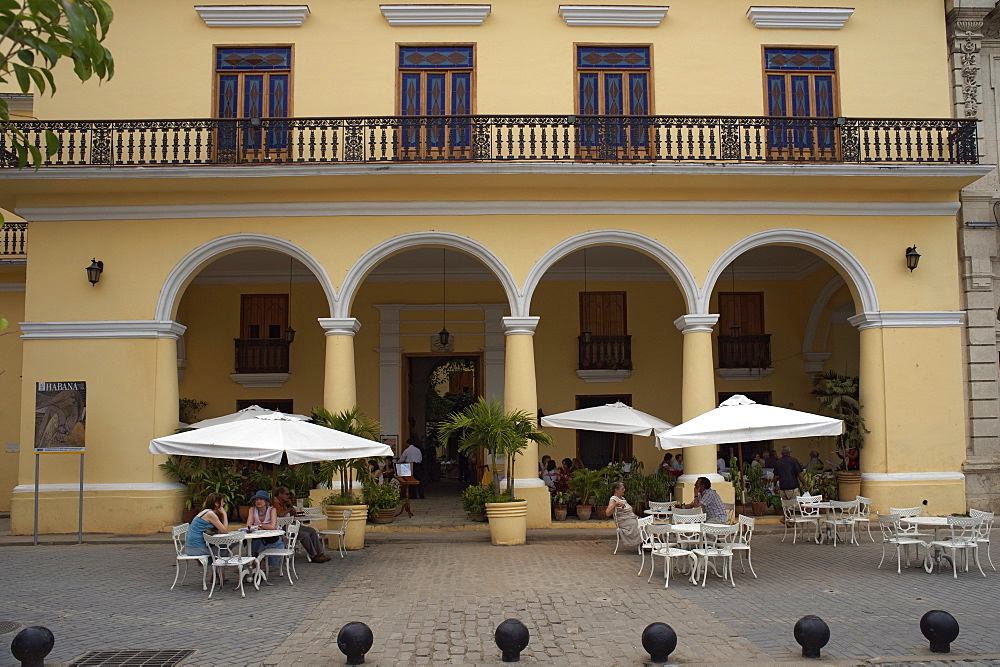 Hostal San Angel, Plaza Vieja, Old Havana, Cuba, West Indies, Central America - 722-122