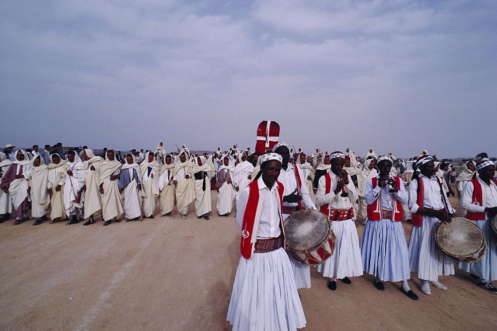 Bedouin wedding, Tataouine Oasis, Tunisia, North Africa