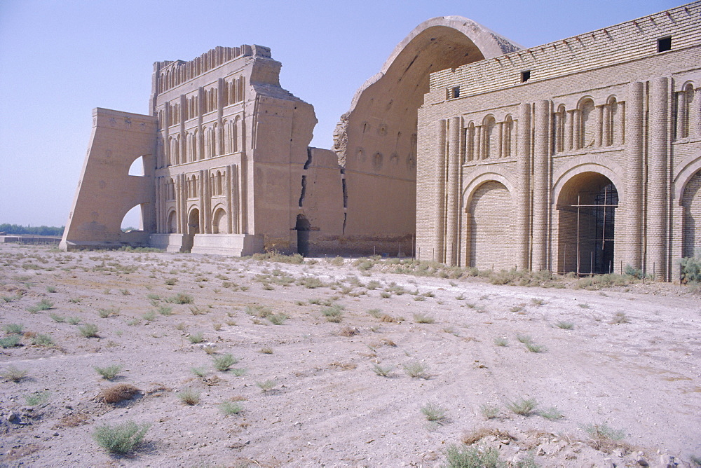Ctesiphon (Al-Mada'in), the city dates from the 2nd century BC, 20 mile south of Baghdad, Iraq, Middle East