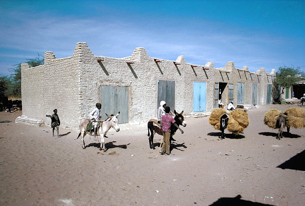 Town of Mao, Sultanate of Kanem, Chad, Africa