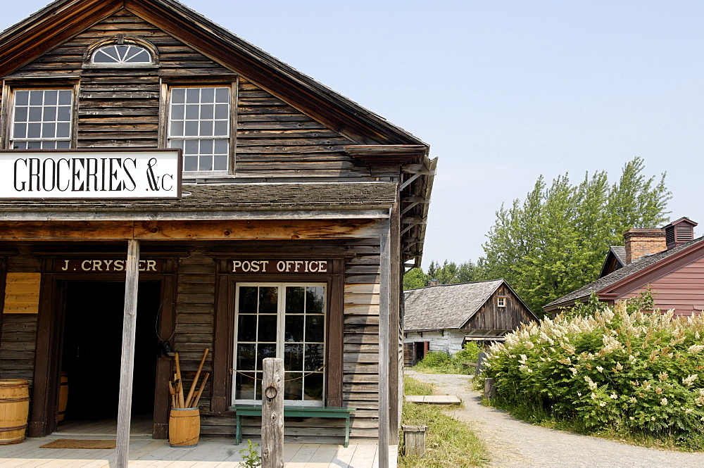 Grocery store, Upper Canada Village, an 1860s village, Heritage Park, Morrisburg, Ontario Province, Canada, North America