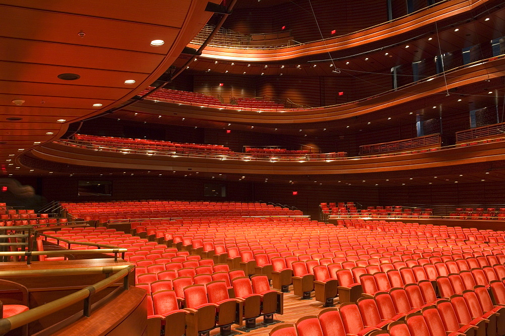 The Kimmel Center for the Performing Arts Academy of Music, architect Rafael Vinoly, Philadelphia, Pennsylvania, United States of America, North America