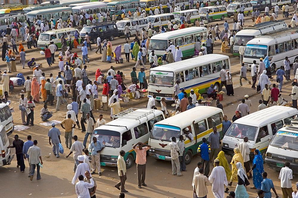 Great Mosque area, Khartoum, Sudan, Africa