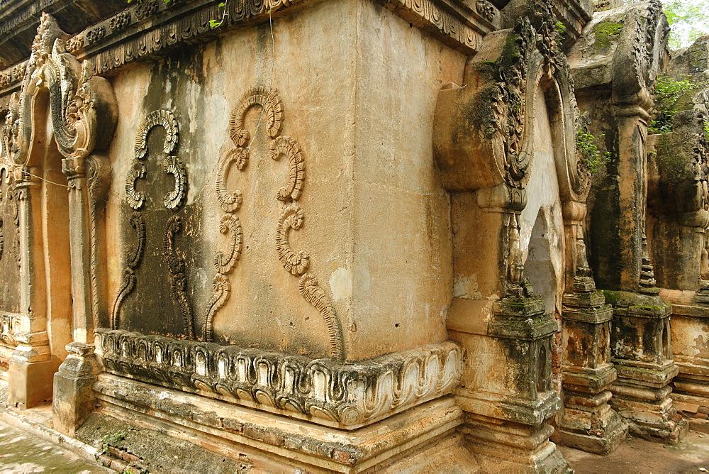Shwe Sayan temple, Mandalay area, Mandalay division, Republic of the Union of Myanmar (Burma), Asia