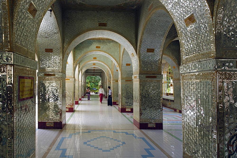 Shwe Sayan pagoda, Mandalay area, Mandalay division, Republic of the Union of Myanmar (Burma), Asia
