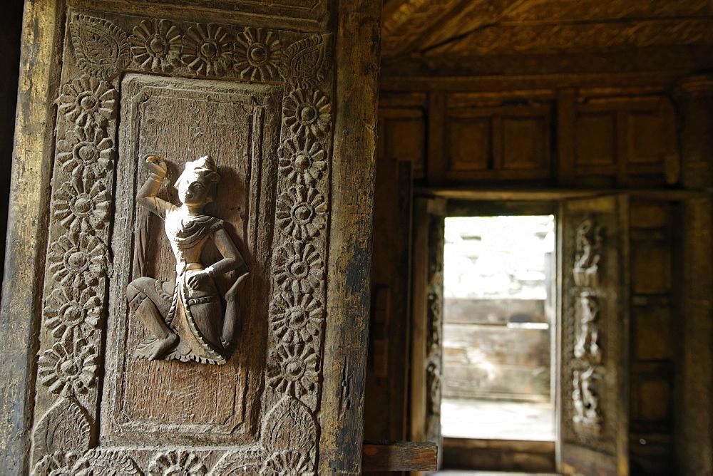 Shwenandaw Monastery, Mandalay city, Mandalay Division, Republic of the Union of Myanmar (Burma), Asia  - 724-2410