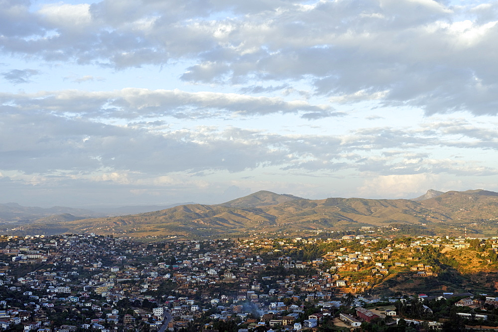 Overview from the upper town, Fianarantsoa, Madagascar, Africa  - 724-2465