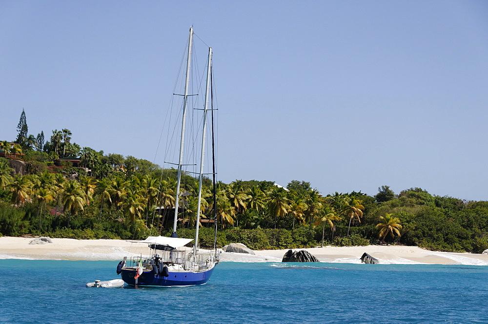 The Baths, Virgin Gorda, British Virgin Islands, West Indies, Caribbean - 724-2480