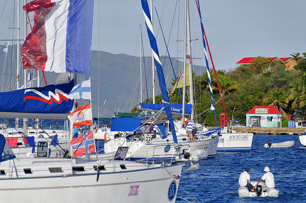 Marina Cay, British Virgin Islands, West Indies, Caribbean, Central America - 724-2483
