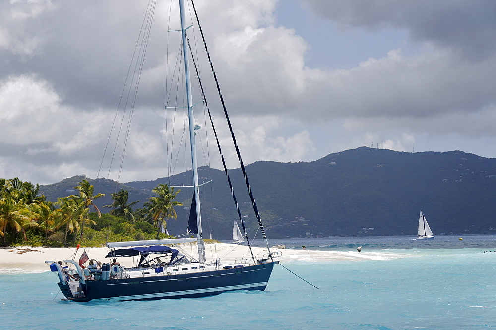 Jost Van Dyke, the smallest of the four main islands of the British Virgin Islands, West Indies, Caribbean, Central America - 724-2487