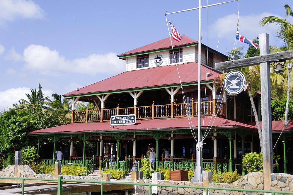 Bitter End Yacht Club, Virgin Gorda Island, British Virgin Islands, West Indies, Caribbean, Central America - 724-2494