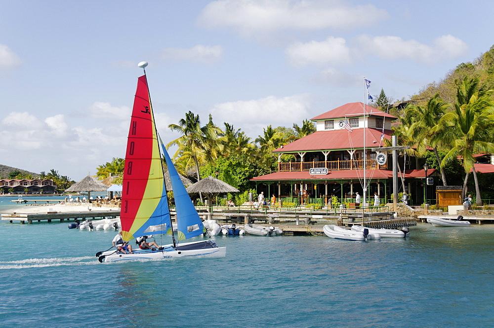 Bitter End Yacht Club, Virgin Gorda Island, British Virgin Islands, West Indies, Caribbean, Central America - 724-2495