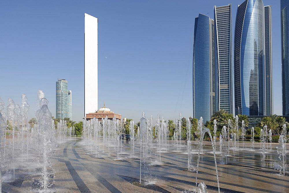 Skyscraper ADNOC Headquarters, 342 m, Abu Dhabi, United Arab Emirates, Middle East - 724-2513