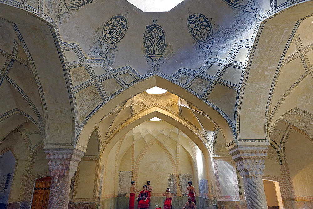 Vakil Bath, an old public bath, Shiraz, Iran, Middle East - 724-2526
