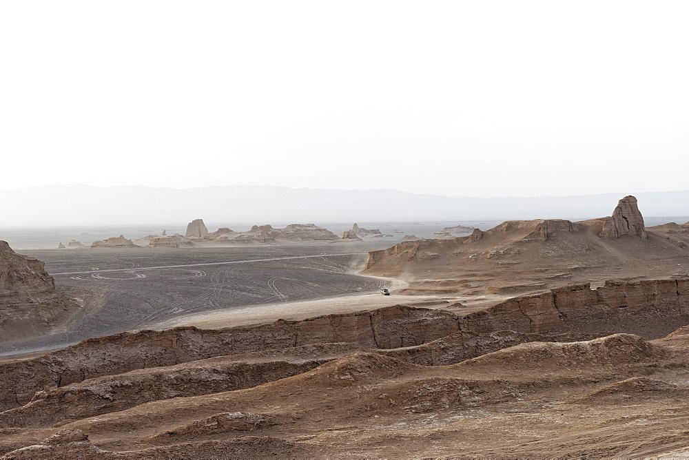 Kaluts desert, Lut Desert, Kerman Province, Iran, Middle East - 724-2560