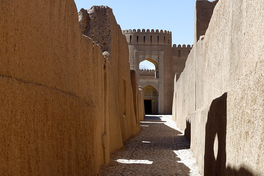 Rayen Castle, situated on the skirts of the mountain Haraz, Iran, Middle East