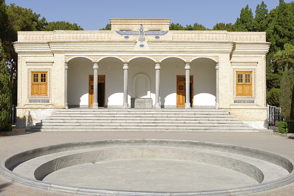 The Yazd Atash Behram, Zoroastrian Fire Temple, Yazd city, Iran, Middle East - 724-2580