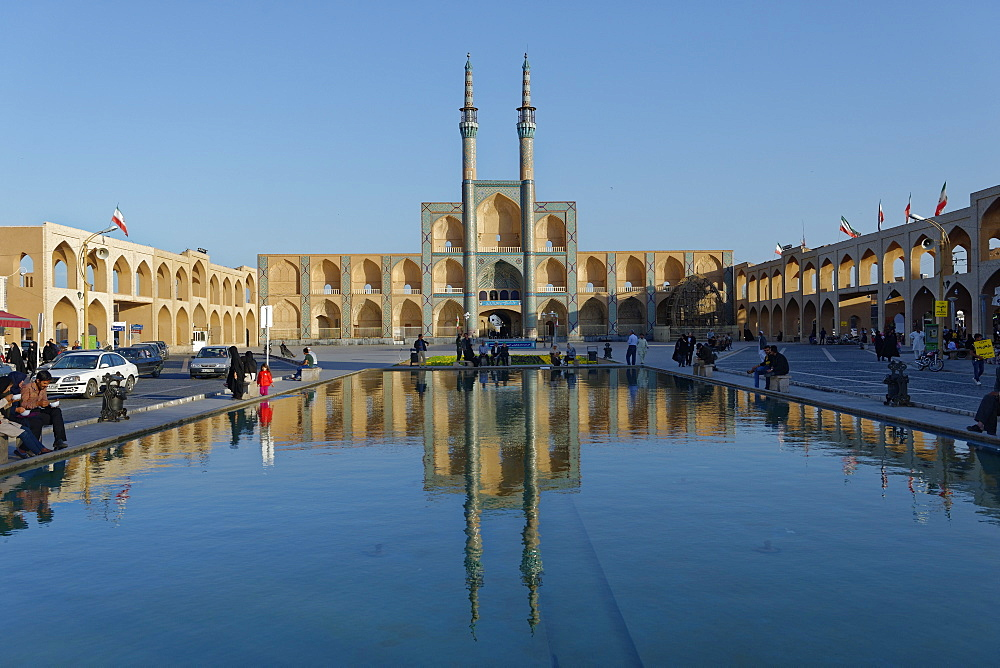 Amir Chakhmaq Complex, Yazd city, Iran, Middle East - 724-2586