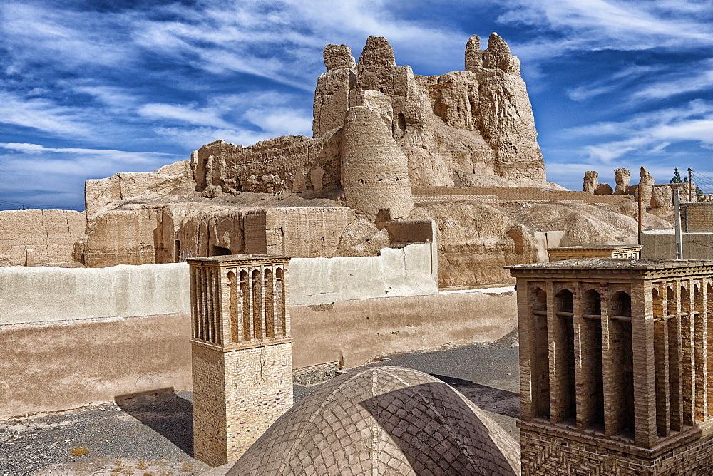 Narenj citadel, Nain city, Isfahan Province, Iran, Middle East - 724-2599