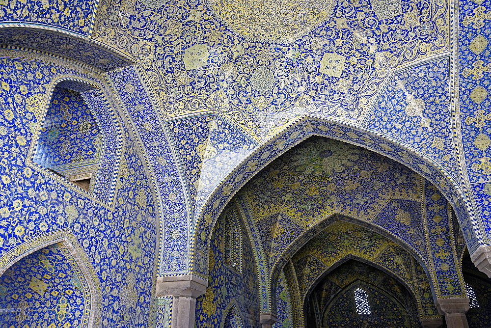 Shah Mosque (Imam Mosque), Isfahan, Iran, Middle East - 724-2609