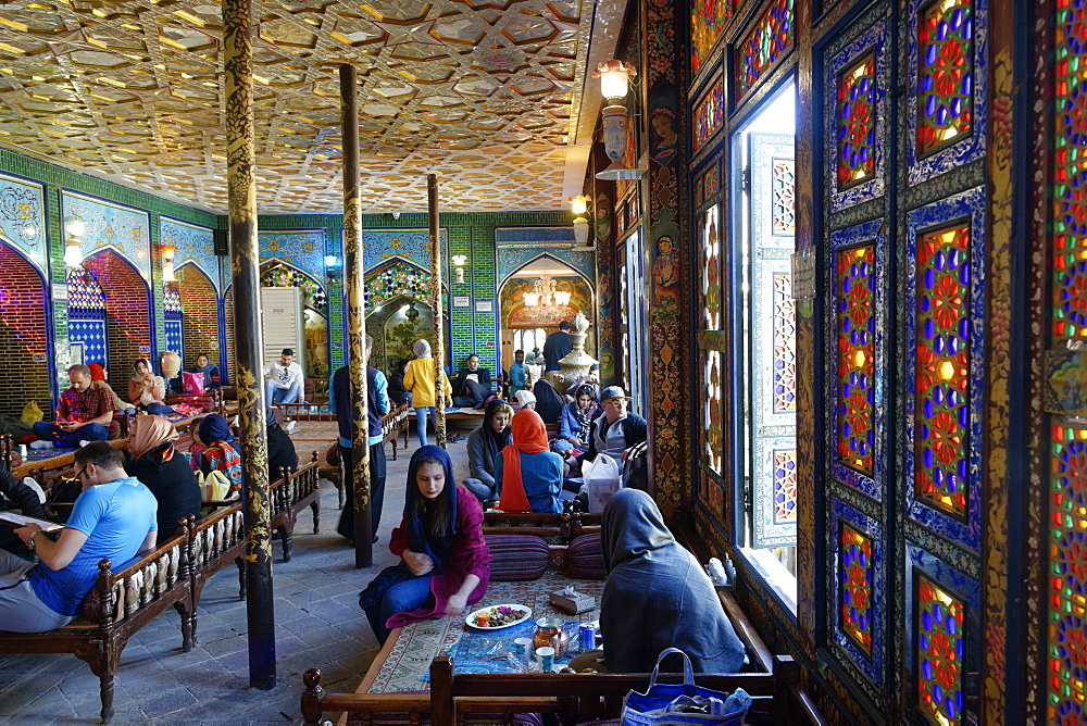 Naghsh-E Jahan Restaurant, Isfahan, Iran, Middle East