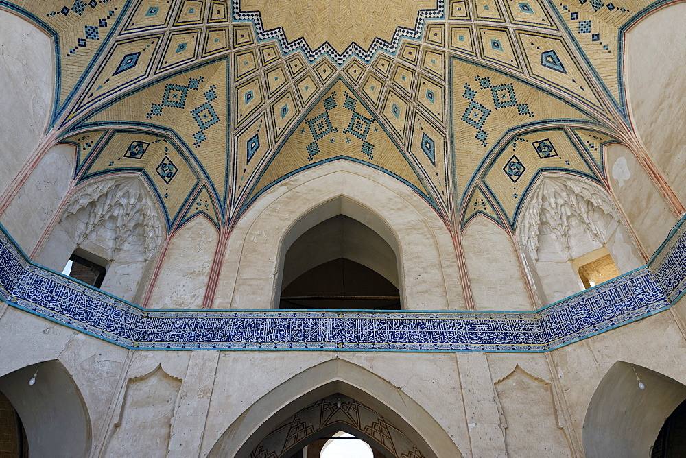 Agha Bozorg Mosque, Kashan city, Iran, Middle East - 724-2616