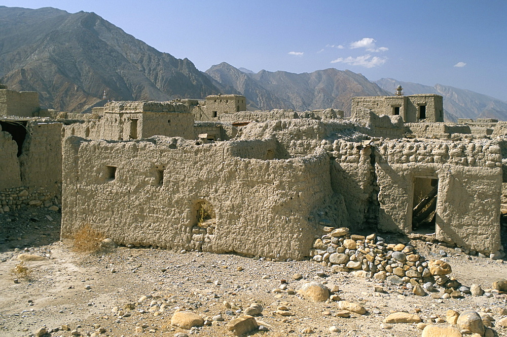 Ghost town of Izki, near Nizwa, Sultanate of Oman, Middle East