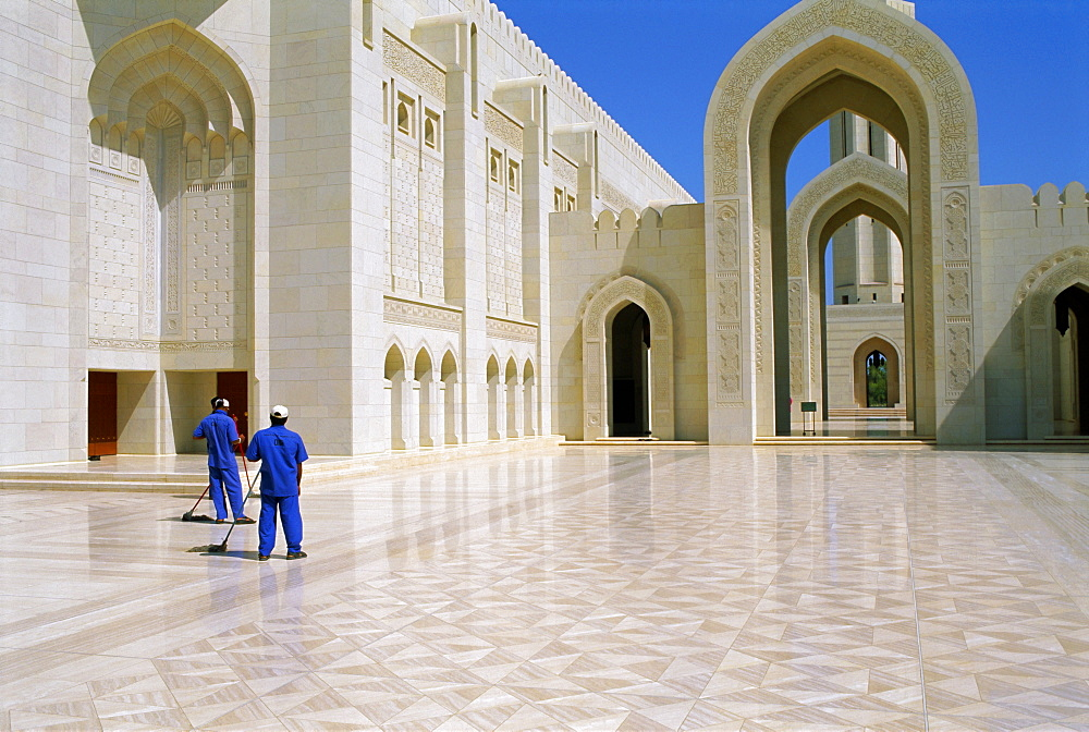 Sultan Qabous Mosque, Muscat, Oman, Middle East