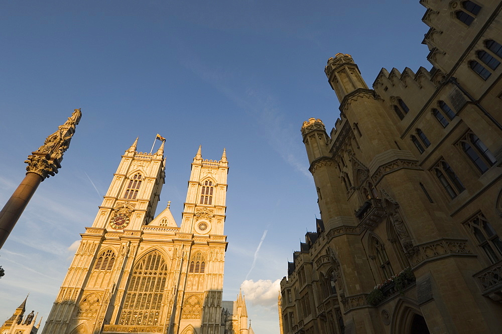Westminster Abbey and Westminster School, Westminster, London, England, United Kingdom, Europe