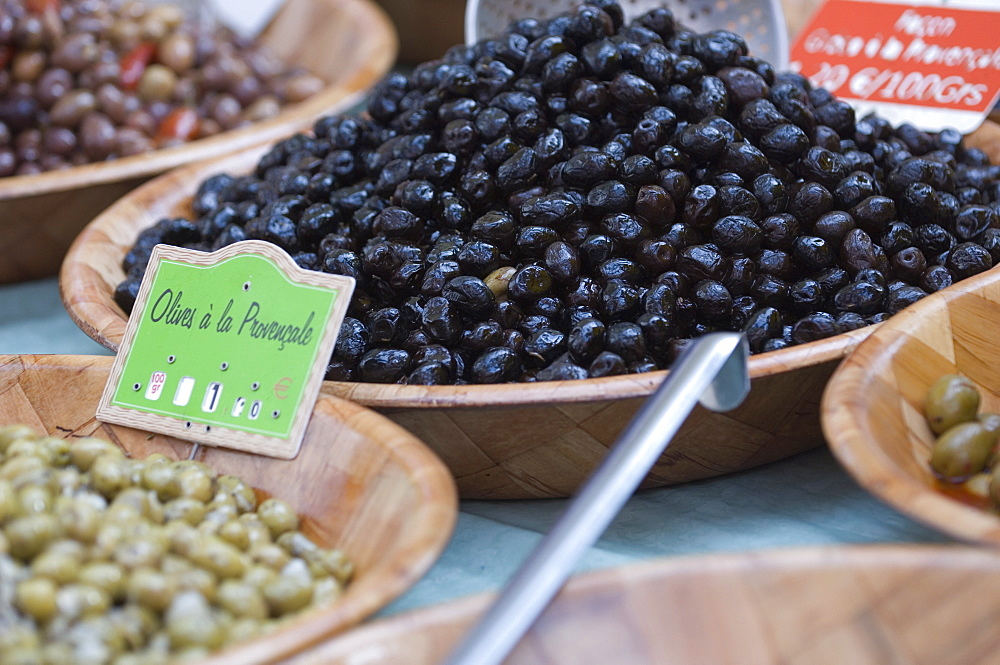 Black Olives, Market, St Tropez, France