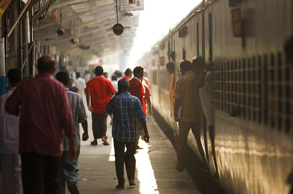 Railway Station, Trivandrum, Kerala, India