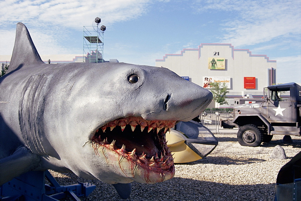 Jaws, model shark, Universal Studios, Florida, United States of America (U.S.A.), North America