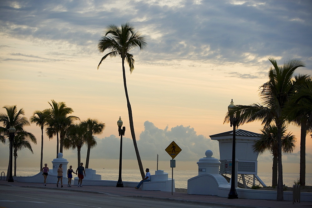 Joggers, Fort Lauderdale, Florida, United States of America, North America