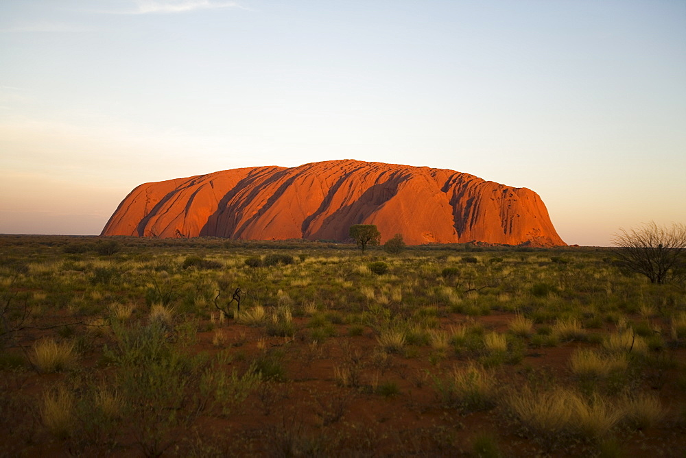 Ayers Rock, Uluru-Kata Tjuta National Park, UNESCO World Heritage Site, Northern Territory, Australia, Pacific