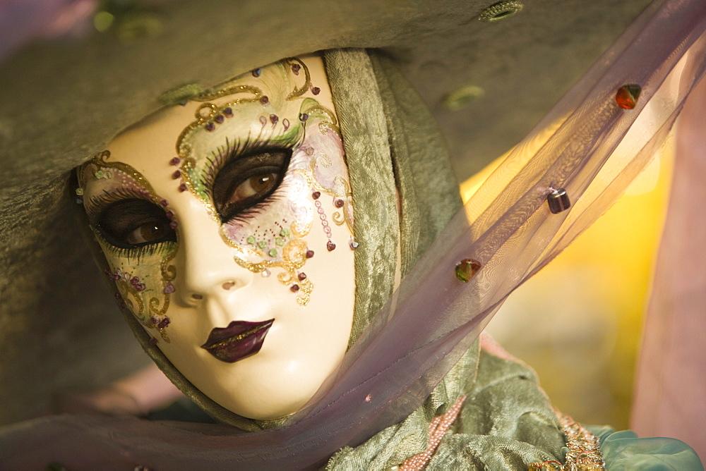 Venice Carnival, Venice, Veneto, Italy, Europe - 728-4719