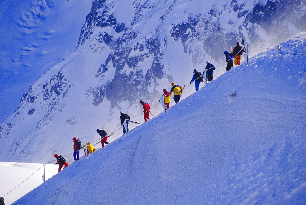 Vallee Blanche, Chamonix, France *** Local Caption ***   - 728-543
