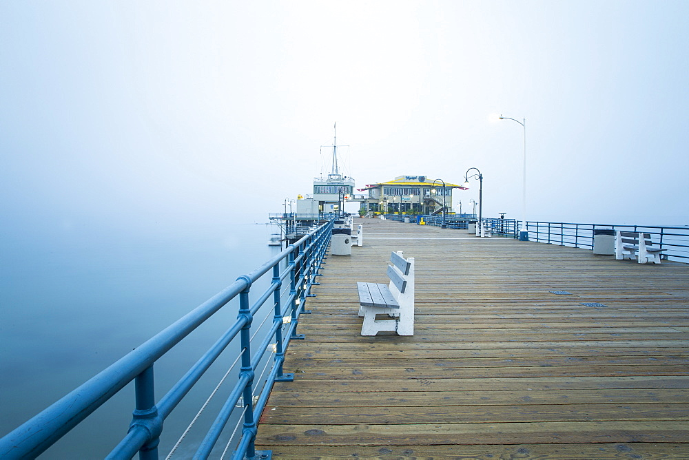 Santa Monica Pier, California, United States of America, North America