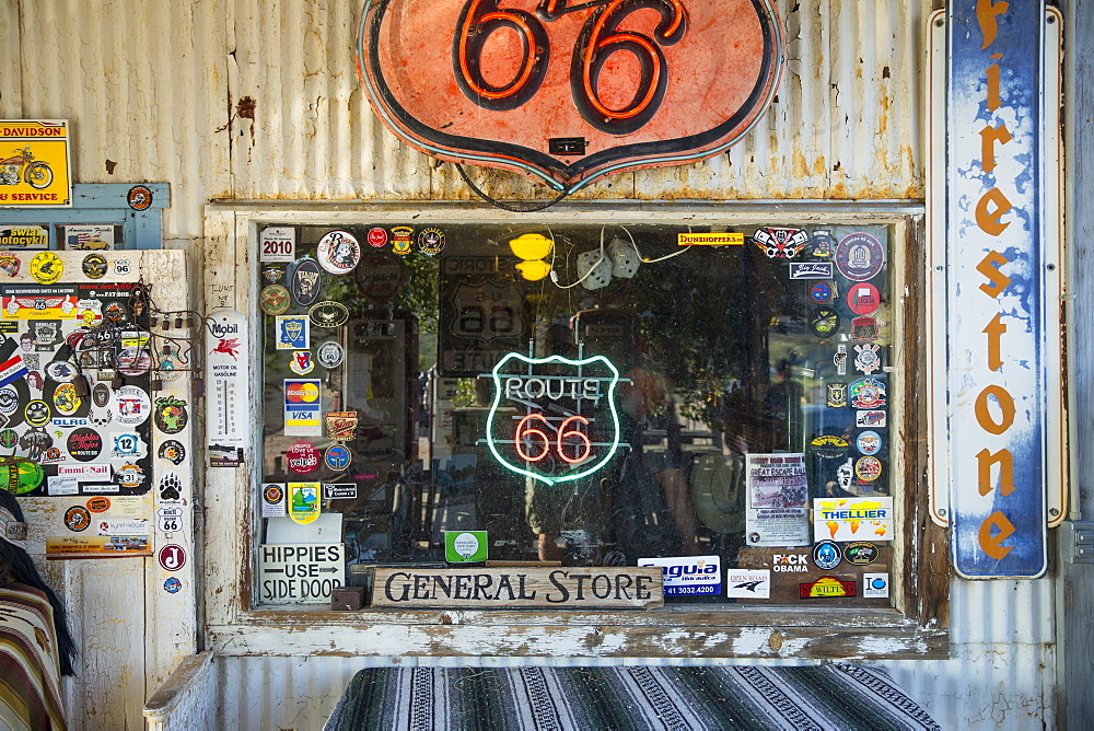 Hackberry General Store on Route 66, Arizona, United States of America, North America