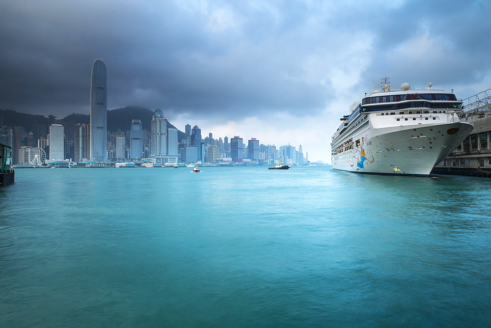 Cruise Ship Terminal, Kowloon, Hong Kong, China, Asia