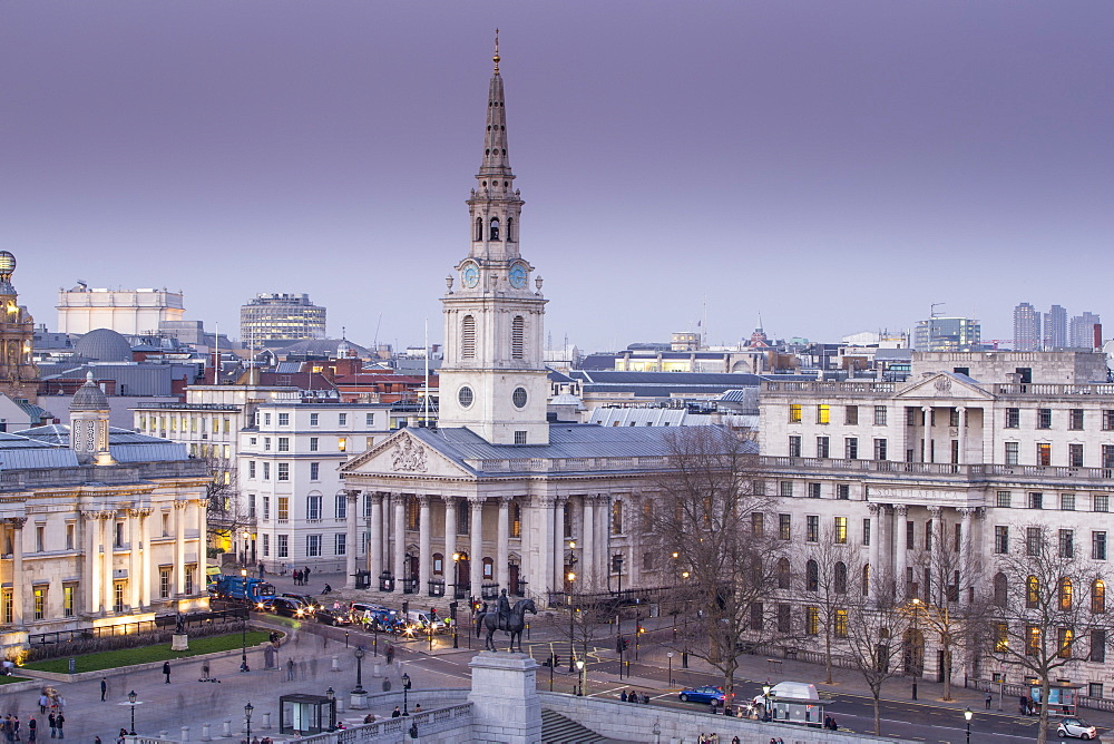 St. Martin in the Fields,Trafalgar Square, London, England, United Kingdom, Europe
