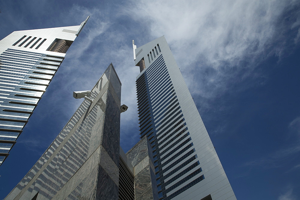 Emirates Towers, Dubai, United Arab Emirates, Middle East