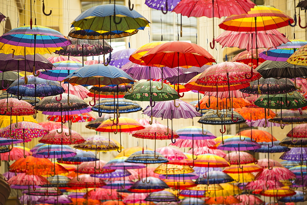 Umbrellas, Dubai, United Arab Emirates, Middle East