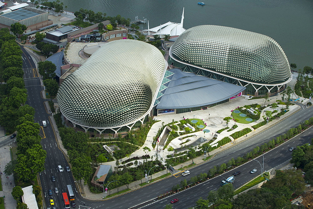 Esplanade, Theatres on the Bay, Singapore, Southeast Asia, Asia - 728-6320