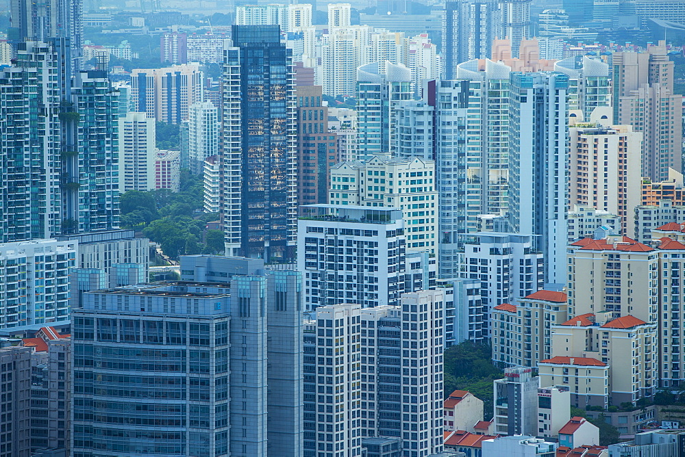 High rise apartments, Singapore, Southeast Asia, Asia - 728-6322