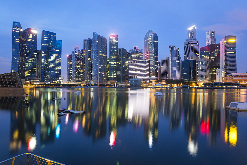 Financial District, Singapore, Southeast Asia, Asia - 728-6348