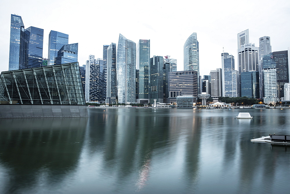 Financial District, Singapore, Southeast Asia, Asia - 728-6352